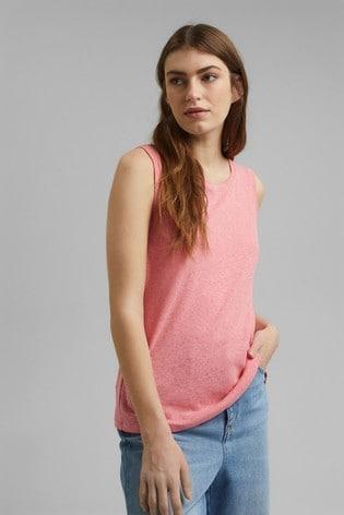 Esprit Pink Sleeveless Vest