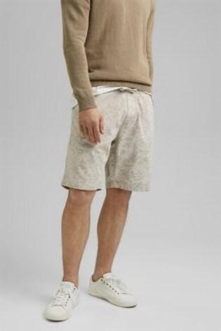 Esprit Beige Print Shorts