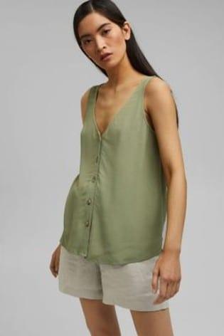 Esprit Green Top