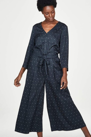 Thought Sophia Bamboo & Modal Floral Wide Leg Jumpsuit