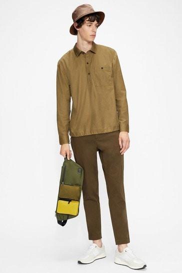 Ted Baker Helpout Ls Bungee Waist Shirt