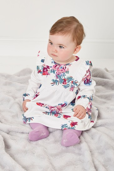 Joules 1-24 mthsHarleigh Organically Grown Cotton Dress Set