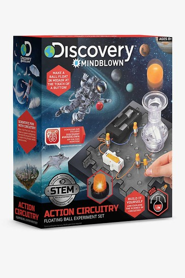 Discovery Mindblown Red Toy Circuitry Action Experiment  - Floating Ball