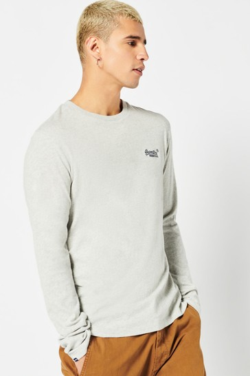 Superdry Organic Cotton Vintage Logo Embroidered Top