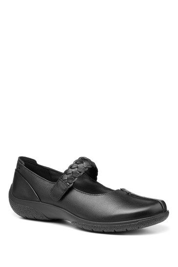 Hotter Shake II Wide Fit Touch Fastening Mary Jane Shoes