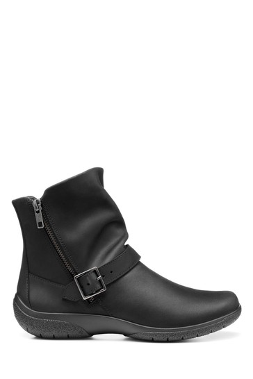 Hotter Rumour Wide Fit Zip Ankle Boots