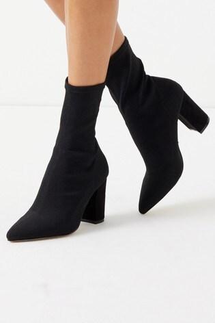 Buy Lipsy Wide Fit Block Knit Sock