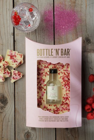 Spicers Of Hythe Bottle 'N' Bar With Pink Marshmallow Moonshine
