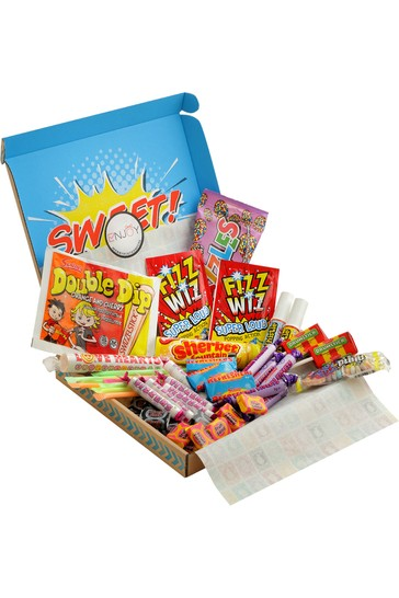 Spicers of Hythe Retro Sweets Letterbox Hamper