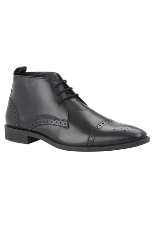 Lotus Leather Formal Boots