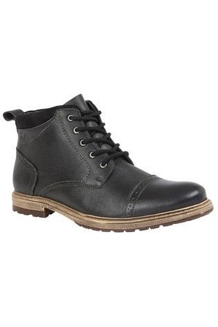 Lotus Leather Casual Boot