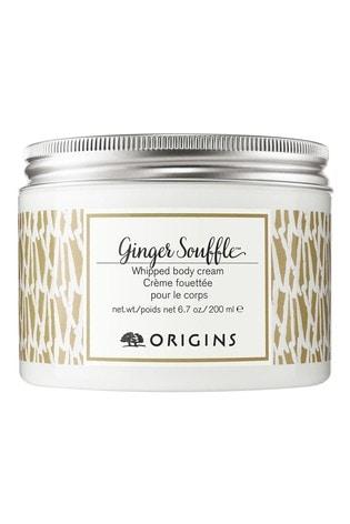 Origins Ginger Souffle Whipped Body Cream 200ml