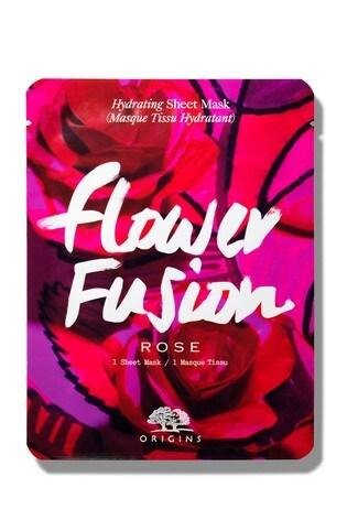 Origins Flower Fusion Hydrating Sheet Mask - Rose