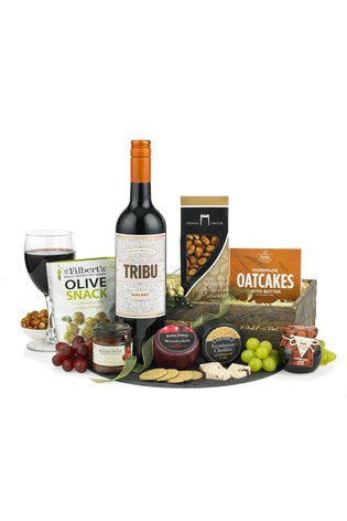 Spicers of Hythe Wine & Cheese Crate