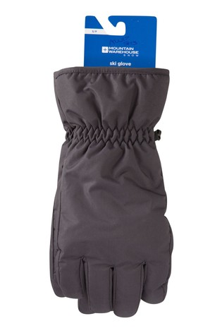 Mountain Warehouse Grey Mens Ski Gloves