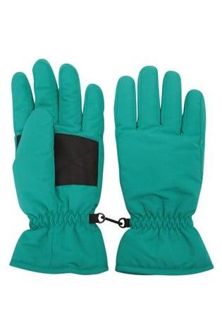 Mountain Warehouse Green Womens Ski Gloves