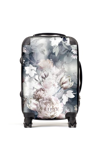 Personalised Lipsy Ava Floral Print  Suitcase By Koko Blossom
