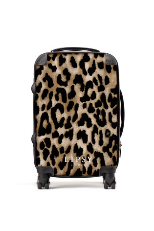 Personalised Lipsy Leopard Print  SuitCase By Koko Blossom