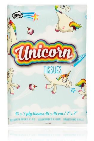 NPW Unicorn Tissues