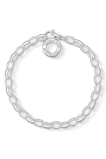 Thomas Sabo Sterling Silver Charm Club Charm Bracelet