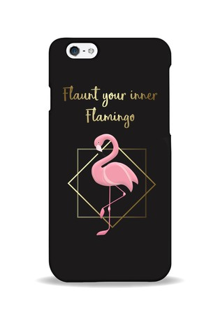Personalised Flaunt Your Inner Flamingo Phone Case By YooDoo