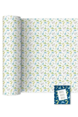 Personalised 3m Wrapping Paper By YooDoo