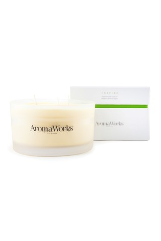 AromaWorks Inspire Large 3-Wick Candle
