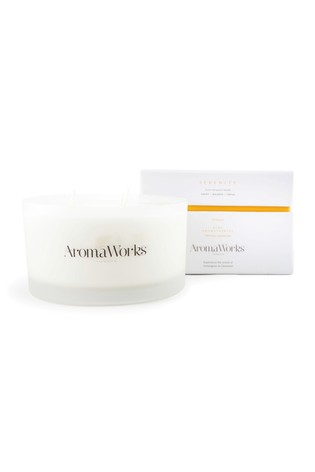 AromaWorks Serenity Large 3-Wick Candle