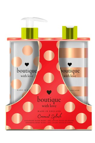 Boutique from The English Bathing Company The English Bathing Company, Boutique With Love Hand & Body Wash Duo - Coconut Splash