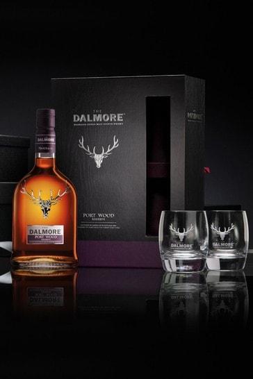 DrinksTime The Dalmore Port Wood Reserve Single Malt Scotch Whisky Gift Set