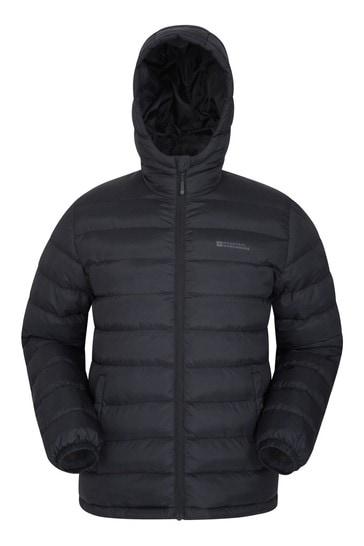 Mountain Warehouse Black Seasons Mens Padded Jacket