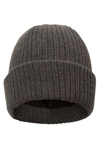 Mountain Warehouse Brown Thinsulate Knitted Mens Beanie