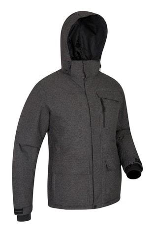 Mountain Warehouse Black and Grey Comet Mens Ski Jacket