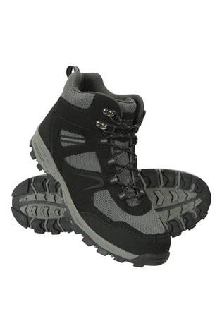 Mountain Warehouse Black Mcleod Mens Boots