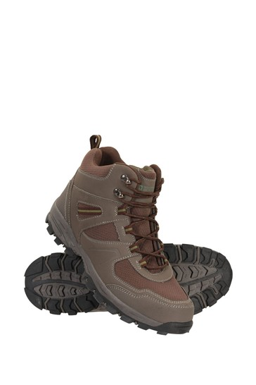 Mountain Warehouse Brown Mcleod Mens Boots