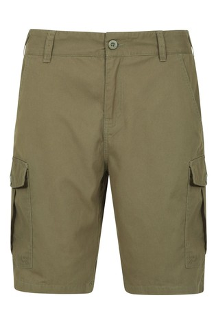 Mountain Warehouse Khaki Lakeside Mens Cargo Shorts