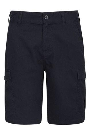 Mountain Warehouse Navy Lakeside Mens Cargo Shorts