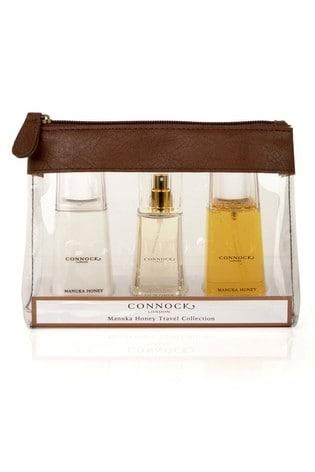 Connock London Manuka Honey Travel Collection