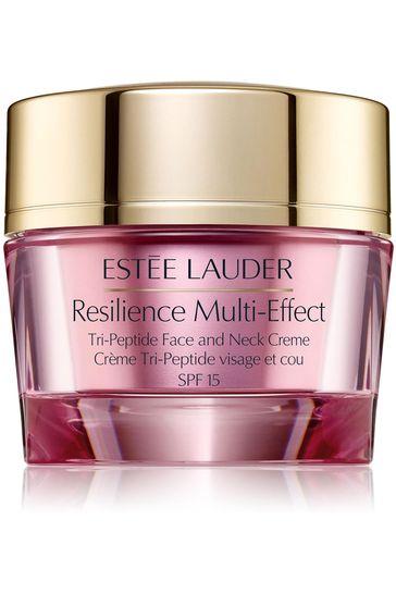 Estée Lauder Resilience Multi-Effect Tri-Peptide Face and Neck Moisturiser Crème Normal/Combination Skin 50ml