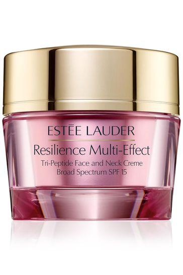 Estée Lauder Resilience Multi-Effect Tri-Peptide Face and Neck Moisturiser Crème Dry Skin 50ml