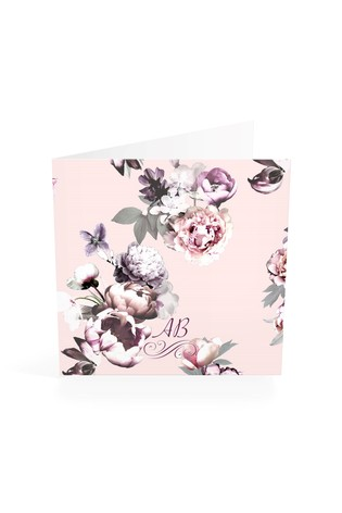 Personalised Lipsy Amber Monogrammed Notelet Cards By Croft Designs
