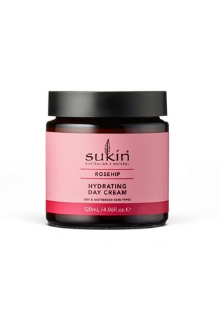 Sukin Natural Hydrating Rosehip Day Cream 120ml