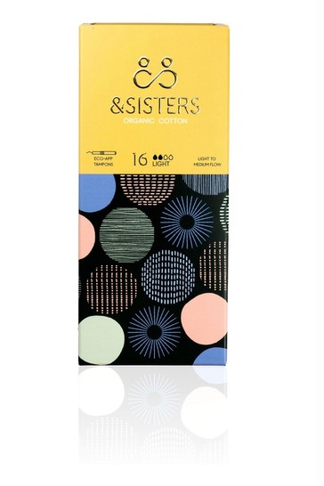 &Sisters | Plastic-free Tampons | Organic | Eco-Applicator | Light