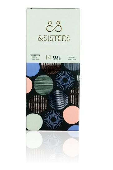 &Sisters   Plastic-free Tampons   Organic   Eco-Applicator   Medium