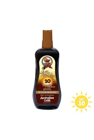 Australian Gold SPF 10 Spray with Instant Bronzer 237ml