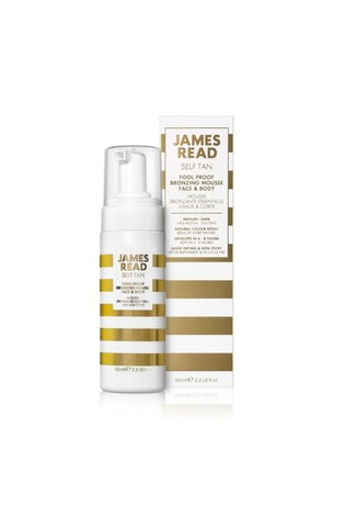 James Read Tan Fool Proof Bronzing Mousse Face & Body