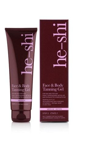 He-Shi Face & Body Tanning Gel 150ml