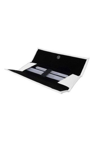 Leighton Denny Large Cystal Nail File in Aluminium Case