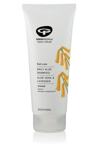 Green People Organic Shampoo, Daily Aloe Vera, Vegan 200ml