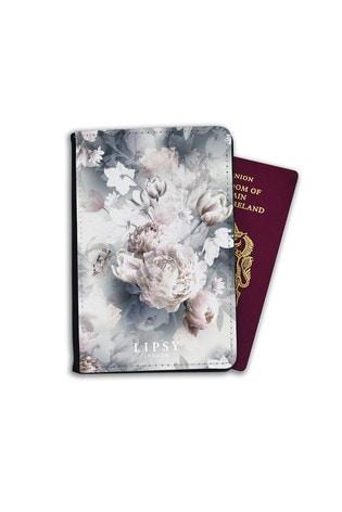 Retro Squares Vinyl Passport Holder Personalized